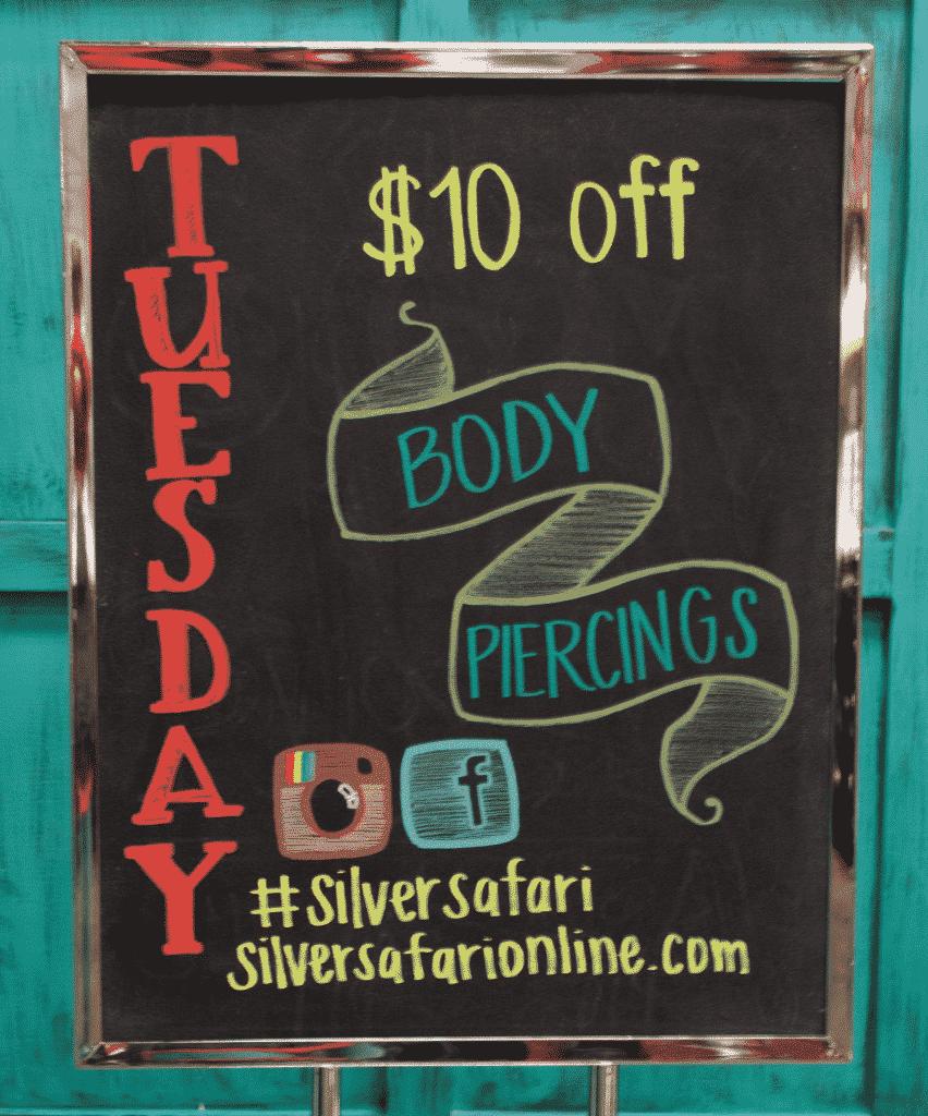 $10 off Tuesdays at Silver Safari Spokane Valley Mall