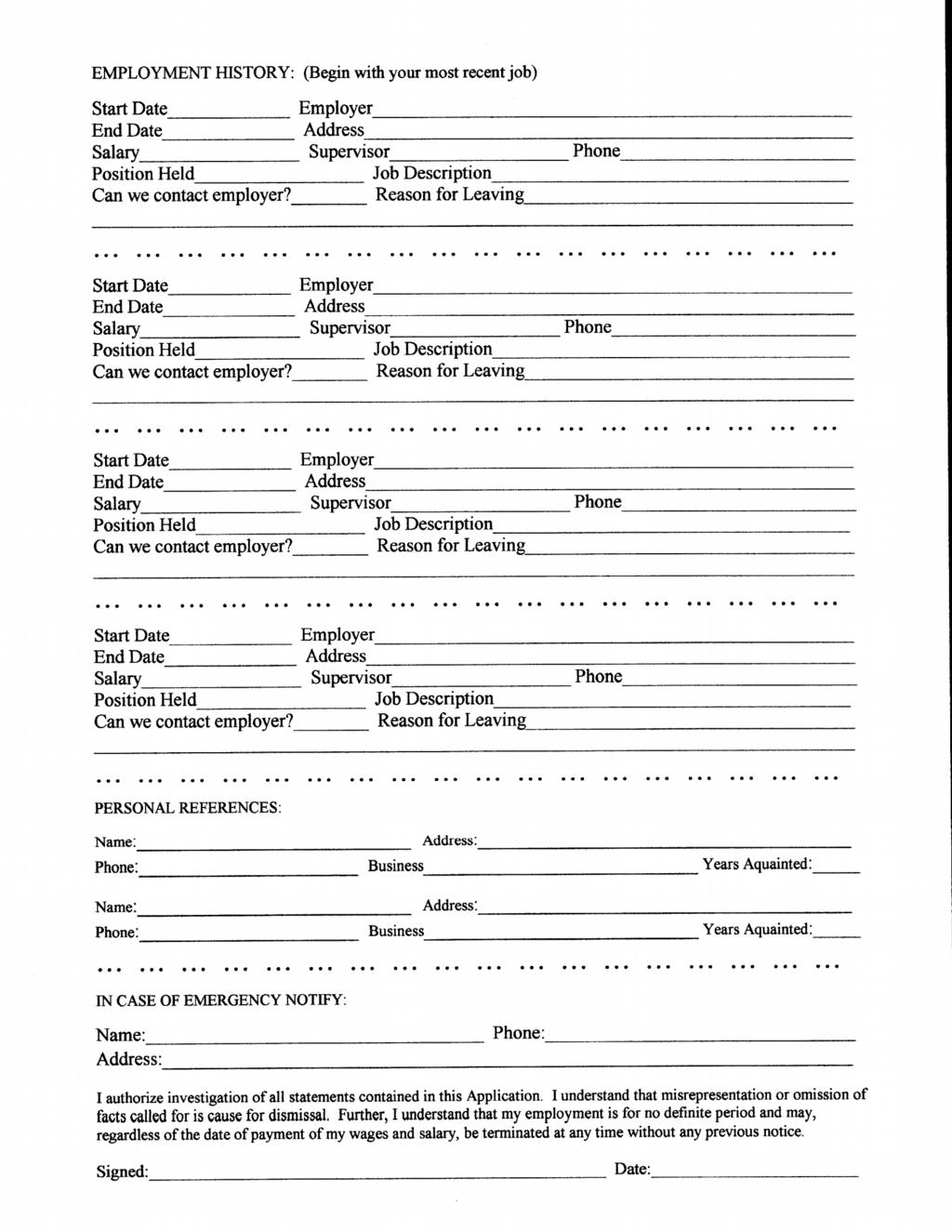 silver safari spokane valley mall application back page