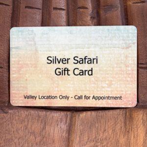 silver safari gift card